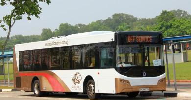 Republic Express - Sunlong SLK6121UF14H Hybrid (PC2677D) - Parkway Parade to Pasir Ris Shuttle