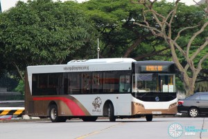 Republic Express -Sunlong SLK6121UF14H Hybrid (PC2677D) - HarbourFront to PCG/CDMC