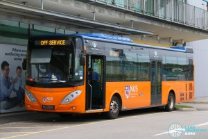 ComfortDelGro Bus Volvo B9L (PC3763G) - Tampines Retail Park Shuttle, Off Service