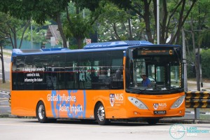 NUS Volvo B9L - Internal Shuttle Bus C (PC3995D)