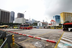 Queen Street Bus Terminal - Bus Park