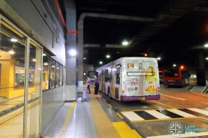 Sengkang Bus Interchange Alighting berths