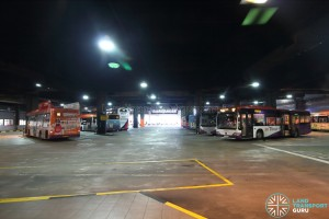 Sengkang Bus Interchange - Bus Park