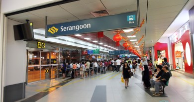 Serangoon Bus Interchange - nex entrance near Berth B3