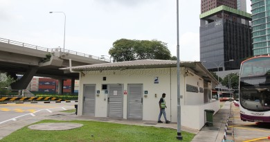Shenton Way Bus Terminal - Terminal building
