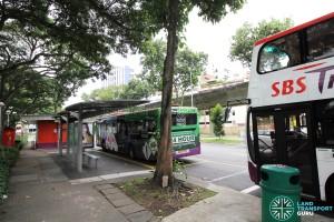 Sims Place Bus Terminal - Bus stop
