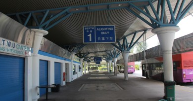 Tuas Bus Terminal in 2013 - Alighting Berth