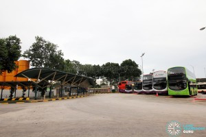 Upper East Coast Bus Terminal - Bus Park