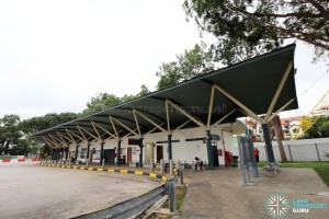 Upper East Coast Bus Terminal - Terminal building