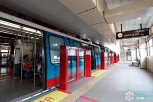 Choa Chu Kang LRT - Platform 3
