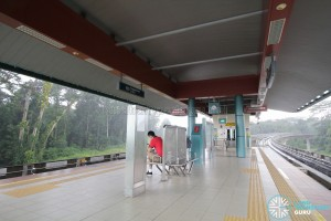 Punggol Point LRT Station - Platform Level