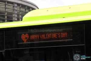 Tower Transit Mercedes-Benz Citaro - Valentine's Day Side EDS scroll