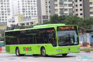 Go-Ahead Mercedes-Benz Citaro (SG1054B) - Service 82