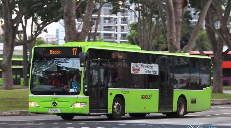 Go-Ahead Mercedes-Benz Citaro (SG1065U) - Service 17