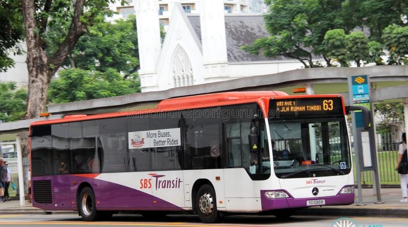 SBS Transit Mercedes-Benz Citaro (SG1089B) - Service 63