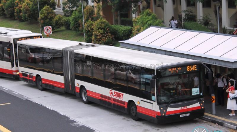 SMRT Mercedes-Benz O405G Hispano Habit (TIB1148J) - Service 854E