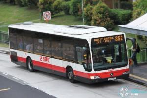 SMRT Mercedes-Benz Citaro (SMB148T) - Service 852