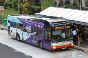 SMRT MAN NL323F (SMB1501A) - Service 858