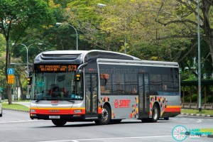 SMRT MAN A22 (SG1710R) - Service 973