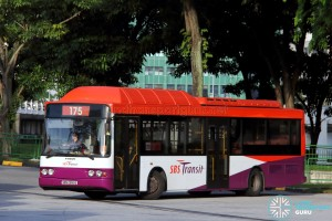 SBST Volvo B10BLE CNG (SBS2990E) - Service 175