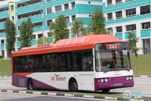 SBS Transit Volvo B10BLE CNG (SBS2990E) - Service 243G