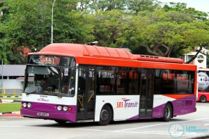 SBST Volvo B10BLE CNG (SBS2997L) - Service 151