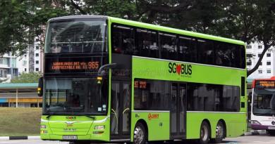 SMRT MAN A95 (SG5799J) - Service 965
