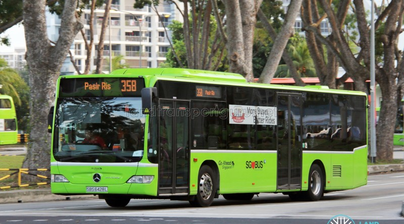 Go-Ahead Mercedes-Benz Citaro (SBS6428L) - Service 358