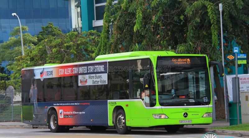 Go-Ahead Mercedes-Benz Citaro (SBS6448D) - Go-Ahead Logo