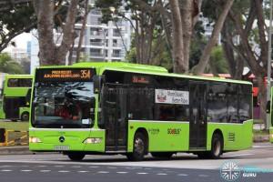 Go-Ahead Mercedes-Benz Citaro (SBS6543L) - Service 354