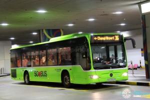 Go-Ahead Mercedes-Benz Citaro (SBS6550R) - Service 36