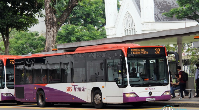 SBS Transit Mercedes-Benz Citaro (SBS6771U) - Service 32