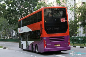 SBS Transit Volvo B9TL Gemilang (SBS7777Y) - Training Bus - Rear