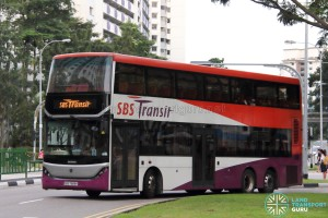 SBS Transit Scania K310UD (SBS7888K) - Training Bus