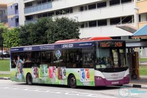 SBS Transit Scania K230UB (SBS8768S) - Service 243W
