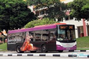 SBS Transit Scania K230UB (SBS8986D) - Service 242