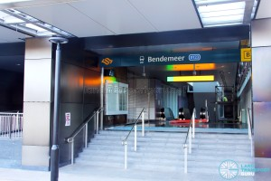 Bendemeer Station - Exit B