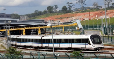 Bombardier Movia C951 (Set 05) at Gali Batu Depot