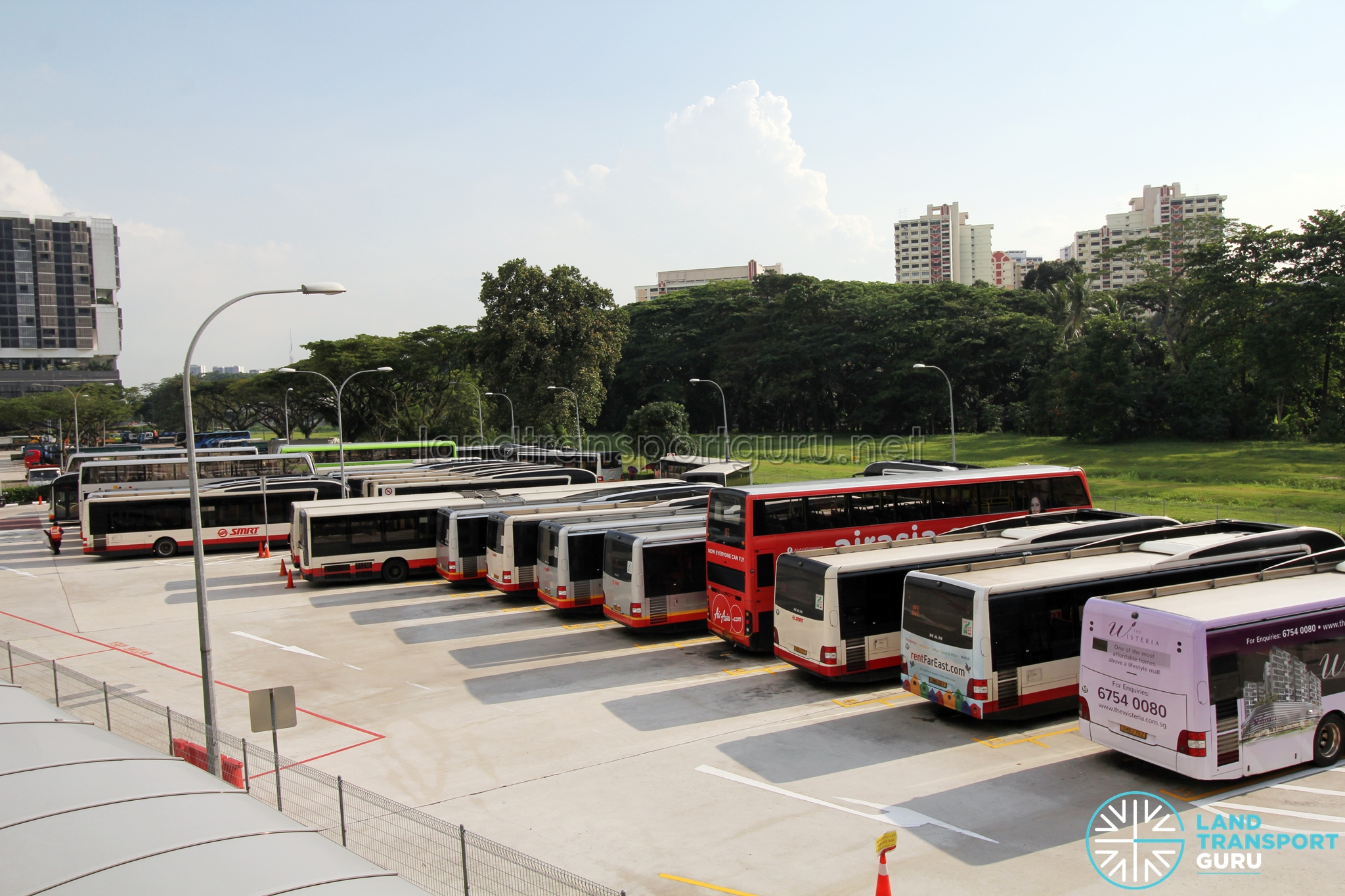 Bukit Panjang Temporary Bus Park Land Transport Guru
