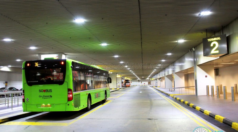 Changi Airport Terminal 2 Basement - Rear view