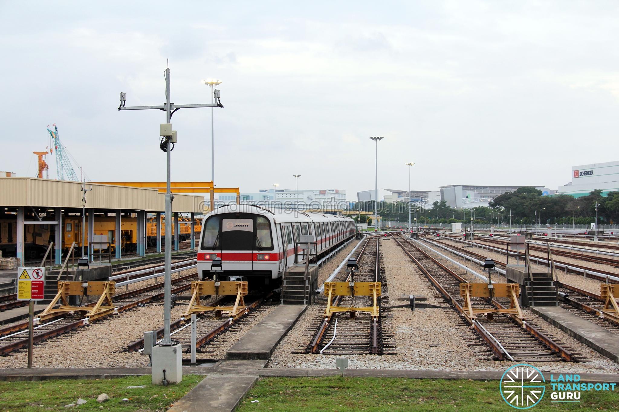 Changi Depot Land Transport Guru