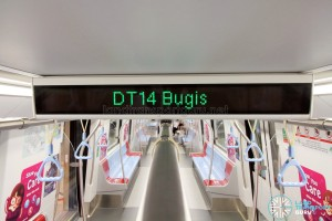 Bombardier MOVIA C951 - LED text display