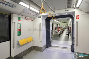 Bombardier MOVIA C951 - Gangway connection