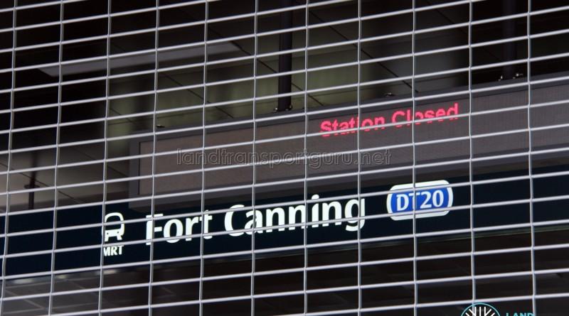DT20 Fort Canning sign
