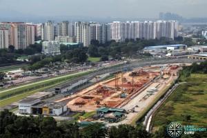 Construction overview of Gali Batu Expansion + Bus Terminal