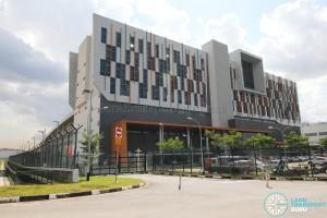 Gali Batu MRT Depot - Main building & Rear gate