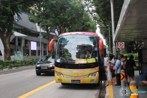 Great World City Shuttle - Orchard Pickup Point