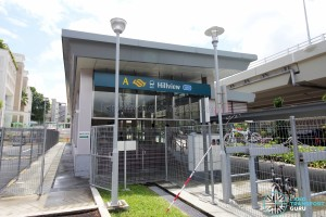Hillview Station Exit A