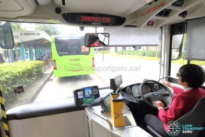 MAN A95 - Driver's cab with CFMS installed