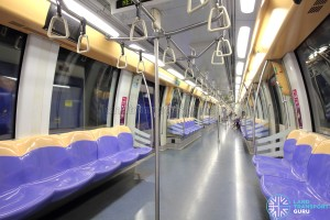 Alstom Metropolis C751A - Interior